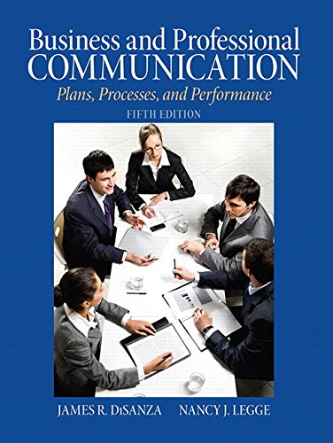 Business & Professional Communication: Plans,...