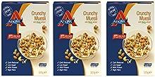 Atkins Crunchy Muesli - 3 Cajas x 325 gr