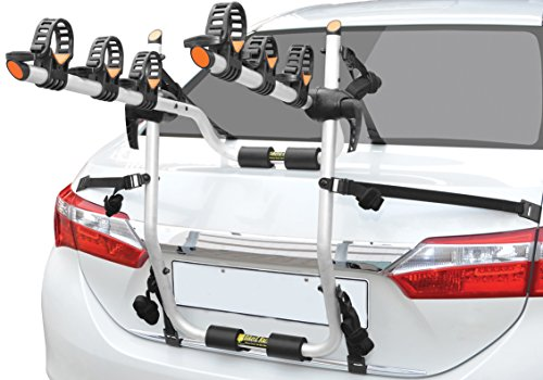 BikerZ Rear Mounted Car Bike Rack : Model TrunkZ