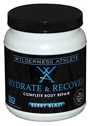 Wilderness Athlete Hydrate and Recover Beverage Mix Tub