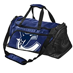 Forever Collectibles NHL Vancouver Canucks Medium Locker Room Duffle Bag