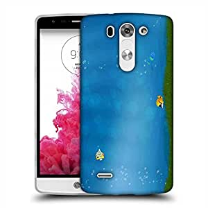Snoogg Colorful Fish Designer Protective Phone Back Case Cover For LG G3 BEAT