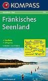 Fränkisches Seenland: Wander- und Radtourenkarte. 1:50.000