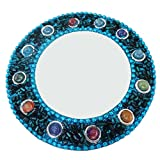 Traditional Jewellery Cosmatic Mirror Home Decor Table Top Antique Glass Mirror Christmas Gift For Her Beade Material Handheld Mirror