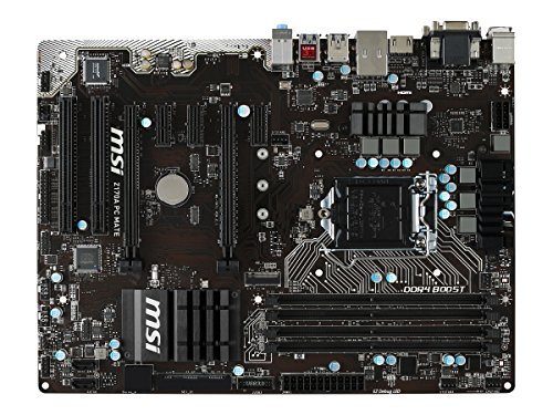 MSI Computer ATX DDR4 Motherboard Z170A PC MATE