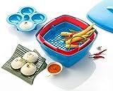 Varmora Microwave Multi Cooker - Free Steamer Plate