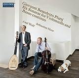 ジョヴァンニ・ベネデッティ・プラッティ:通奏低音とチェロのための6つのソナタ