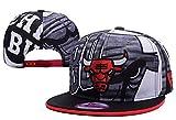 Chicago Bulls Snapbacks Cap Mens Baseball Snapback Hats Red 5 One Size