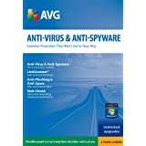 Anti-Virus & Anti-Spyware 1PC-2Yr  [Download] [OLD VERSION] ~ AVG USA Technologies...