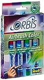 Revell - 30102 - Loisir Créatif - Orbis Set de Recharge - 4 Cartouches Aérographe II - Rouge - Cerise / Violet / Vert - Foncé / Gris