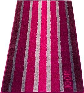 Joop Shades Stripes 1614 - Handtuch Fb. 22 - Raspberry 50 x 100 cm