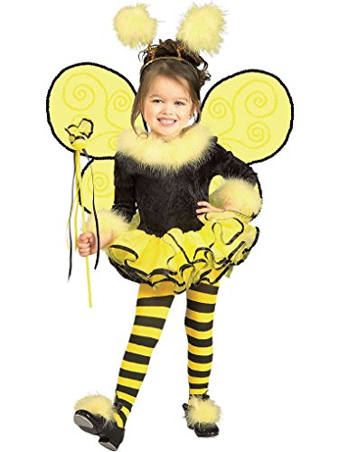 [Mygems Cute Bumble Bee Fancy Dress Costume for Child] (Eye Makeup For Bumble Bee Costume)