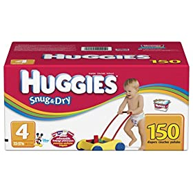 Huggies Snug & Dry High Count Diapers