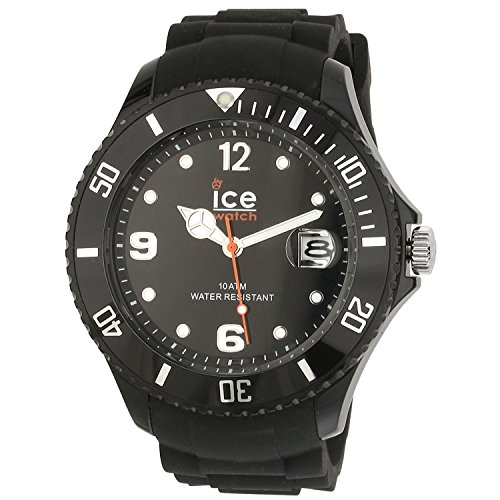 Ice Watch Men'S Sibkbbs11 Sili Forever Collection Black Watch