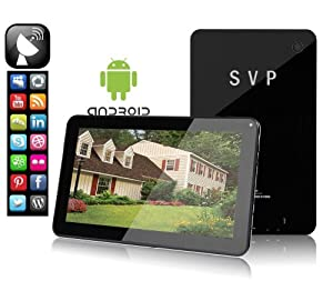 SVP® 10 Inch Dual Core Dual Camera ANDROID 4.1 8GB A7 Tablet WIFI HDMI 3D E-book Google Play Store capacitive Touch Screen Tablet PC 10.1""