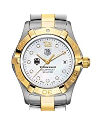 Best Price William & Mary TAG Heuer Watch - Women's Two-Tone Aquaracer Watch with Diamond Deals