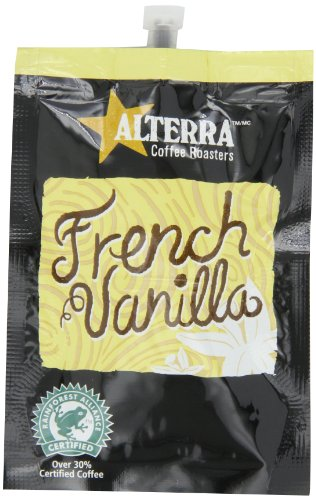 FLAVIA ALTERRA Coffee, French Vanilla, 20Count Fresh Packs Pack of 5