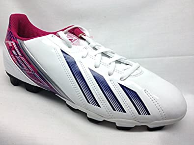 Buy Adidas F5 TRX FG Ladies Soccer Cleats 7M White Ink Pink by adidas