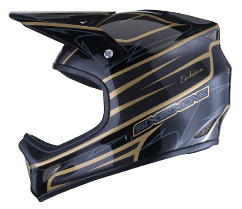 Buy Low Price Sixsixone Evolution Carbon Full Face Bike Helmet (6130-08-545)