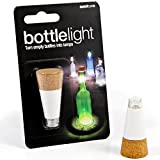 Suck UK Legless Corkscrew Pirate Bottle Opener, Suck UK USB Rechargeable Bottle Light Bundle, 2 Items