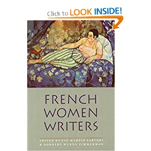 French Women Writers: A Bio-Bibliographical Source Book Eva Martin Sartori and Dorothy Wynne Zimmerman