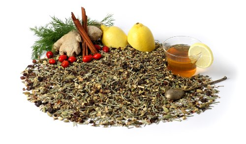 "Herbal Wellness Tea ""Rejuvenate!"" - Caffeine Free Herbal Blend, 3.5 Oz"