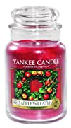 Yankee Candle 22 oz. Red Apple Wreath Jar Candle
