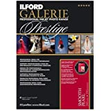 """Ilford GALERIE Prestige Smooth Pearl Inkjet Paper, 310 gsm, 8.5x11"""", 100 Sheet Pack"""