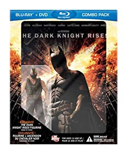 The Dark Knight Rises / L'Ascension du Chevalier Noir with Bane Figurine (Amazon Exclusive Bilingual Blu-ray Combo) [Blu-ray + DVD]