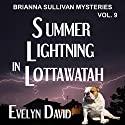 Summer Lightning in Lottawatah: Brianna Sullivan Mysteries Audiobook by Evelyn David Narrated by Lisa Kelly