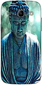 Snoogg Buddha Caught In The Moment Designer Protective Back Case Cover For Sa...