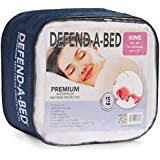 Classic Brands Defend-A-Bed Premium Hypoallergenic Waterproof Mattress Pad, Vinyl Free, Full Size
