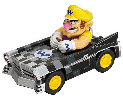 Modellino Personaggio-Mario Kart 1/43 Wario Brute