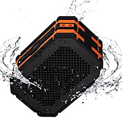 Mpow Armor Portable Bluetooth Speakers Shockproof with Extral 1000 mAh Emergency Power Bank for Outdoor or Shower