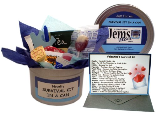 Valentine's Day Survival Kit In A Can. Gifts