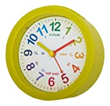Acctim 14605 LuLu Alarm Clock, Green