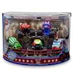 Monster Truck Mater 5 Pc. Deluxe Figu...