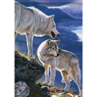 Majestic Wolves Two-Sided Garden Flag 13