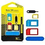 5-en-1 Nano adaptateur de cartes SIM...