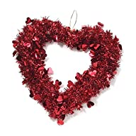 Valentine Heart Wreath – 14 inches