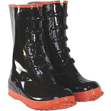 Custom Leathercraft R22011 5-Buckle Rubber Overshoe Boot-SZ 11 5-BUCKLE BOOT