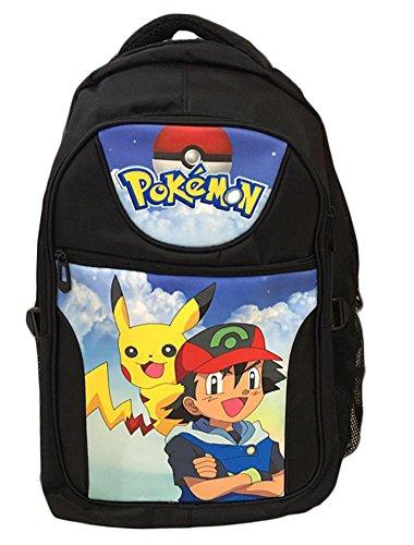 BSBL-Pokemon-mochila-de-dibujos-animados-de-anime-estudiantes-Pikachu-bolso-de-escuela-Bolsas-de-nios-nias