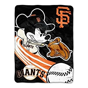 MLB San Francisco Giants 46x60-Inch Micro Raschel Throw by Disney