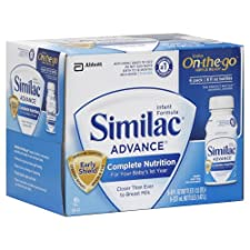 Similac Advance On-The-Go Infant Formula, with Iron, Ready to Feed, 6 ct.