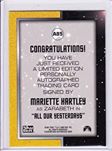 Star Trek TOS Mariette Hartley A85