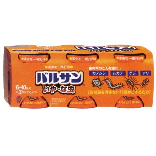 バルサン いや~な虫 不快害虫用くん煙剤 20g(6~10畳用)×3個パック