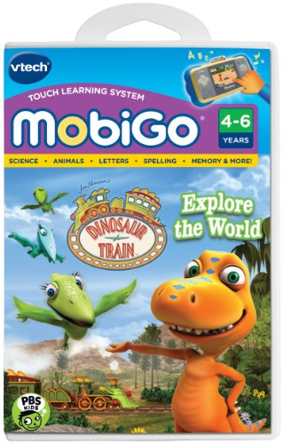 VTech Mobigo Software Cartridge - Dinosaur Train