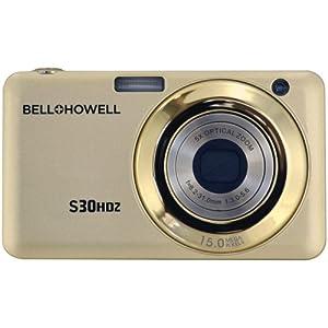 S30HDZ 15 Megapixel Compact Camera - Champagne