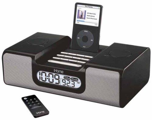 SDI iH8 ラジオクロック付きiPodスピーカー IH8-BLACK