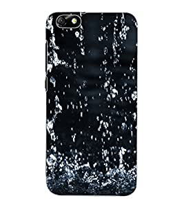 ColourCraft Lovely Rain Falling Design Back Case Cover for HUAWEI HONOR 4X